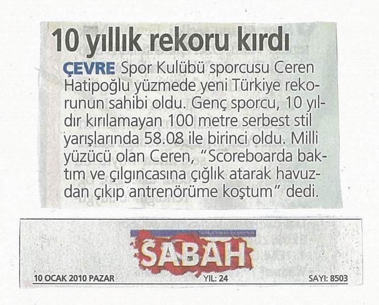 10 YILLIK REKORU KIRDI