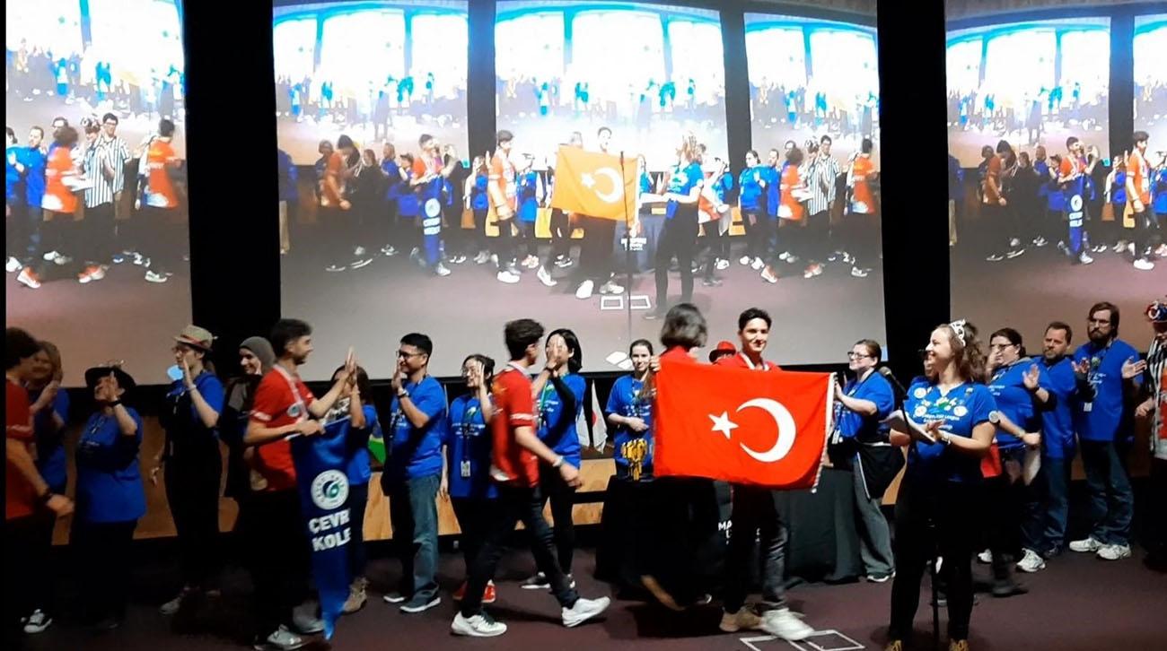 Çevre High School Robotics Team Returned Turkey with a