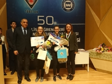 Çevre High School's Remarkable Results in TÜBİTAK District Final