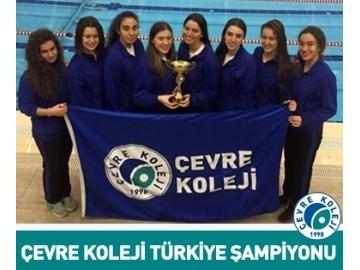 Çevre Koleji Yine Türkiye Şampiyonu!