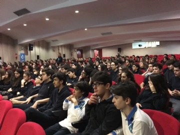 A Seminar on 'ADDICTION' at Çevre College