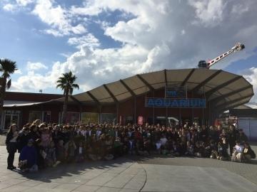 Çevre Koleji Öğrencileri Viasea Akvaryumunu Gezdi