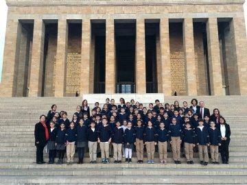 We Were in Ankara With Our 5th Grade Students