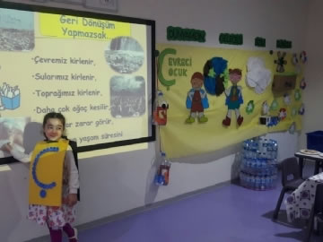 Çevre Kindergarten Students' Second Portfolio Presentation
