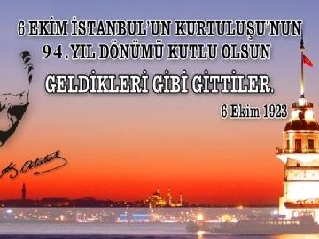 Çevre'de İstanbul'un Kurtuluşu Coşkusu