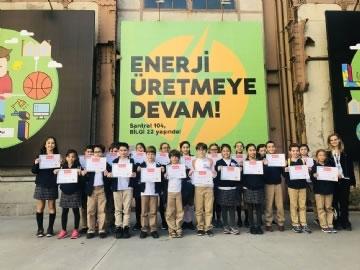 5. Sınıflarımız Santral İstanbul Enerji Müzesinde