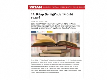 14. KİTAP ŞENLİĞİ - VATAN