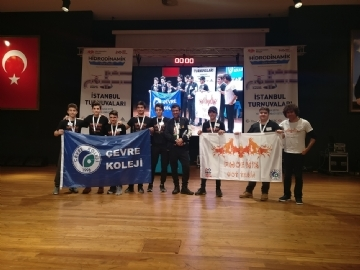 "Çevre High School Wins ""Strategy and Innovation Award"" in First LEGO League"