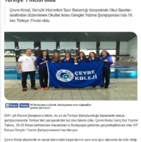 19. Kez Yüzme Şampiyonluğu - Eğitimajansı.com