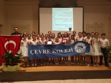 Çevre Polypohony Choir Comes Third in the World