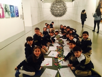 2nd Graders visited Istanbul Modern Museum
