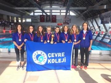 Çevre Yüzücüleri Türkiye Şampiyonu