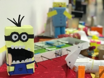 Recycled Toys Exhibition – Do it Yourself Project