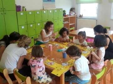 New Students Met Their Classmates