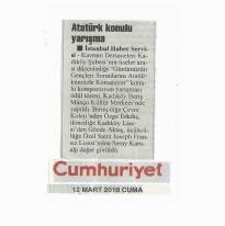 Atatürk Konulu Yarışma