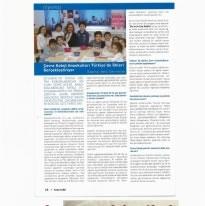 Çevre Koleji Anaokulları Türkiye'de İlkleri Gerçekleştiriyor