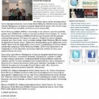 Çevre Koleji Dünya Sorunlarını İrlanda da Tartışacak
