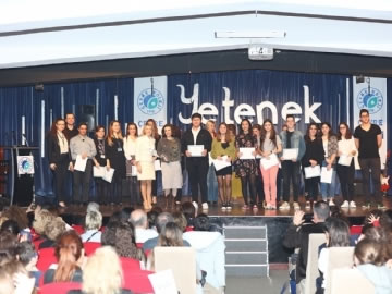 Çevre Koleji, Yetenek Gecesi'nde Fatma Turgut'u Ağırladı
