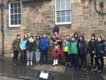 Çevre Koleji Öğrencileri Edinburgh Bilim Festivalinde
