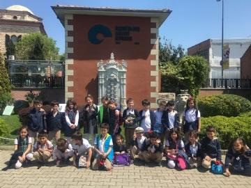 1. Sınıflar Rahmi Koç Müzesini Gezdi
