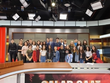 Prep Students at Fox TV Studios