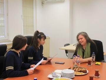 Fabienne Dumoulin Röportajı