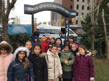 4. Sınıflar Kadıköy Doğal Afet Ve Bilinçlendirme Parkında