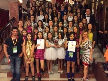 Polifoni Takımımız San Remo Müzik Yarışmasında Dünya Birincisi