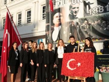 10 Kasım'da Büyük Atatürk'ü Andık
