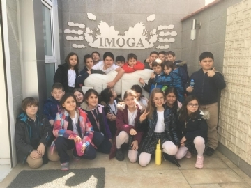 Çevre Primary School 4th Grade Students Visit İmoga Graphic Arts Museum
