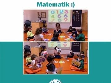 Anaokulu Öğrencilerimiz ile Matematik