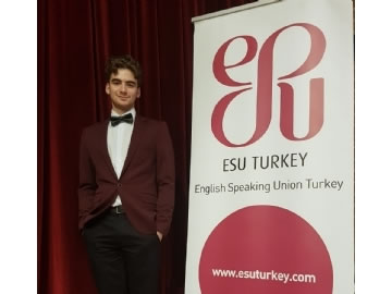 ESU - International English Public Speaking Competition Turkey Champion