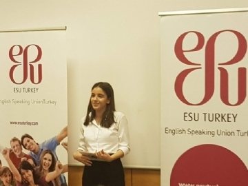 ESU - International English Public Speaking Competition Turkey Finalist