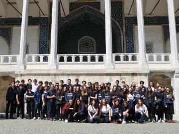 Çevre High School at Archaeological Museum Pursuing the Traces of the Past