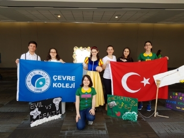 Çevre High School Students Represented Our Country in America