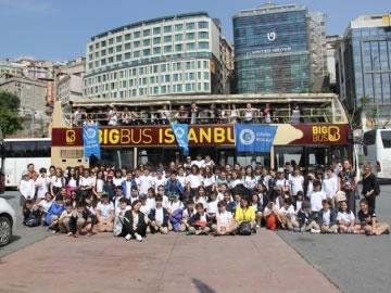 5. Sınıflar İstanbul'u Turluyor