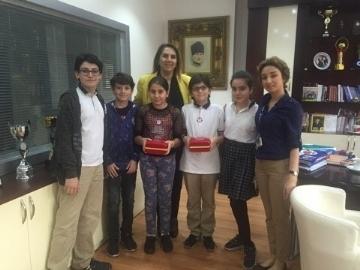 """Çevre Koleji UNESCO SEMEP 2017'de """"En İyi Doğayı Koruma Çalışması"""" Ödülünü Kazandı."""