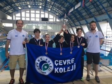 Çevre College Swimming Success