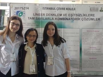 Lise Matematik Bölümü Öğrencilerinin Projesi Final Sergisinde