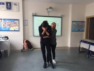 Çevre Lisesi İlk Yardım Eğitiminde!