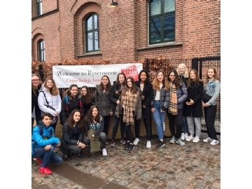 Çevre High School in Copenhagen for Denmark School Partnership Project