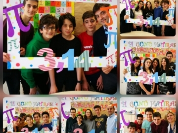 'Pi Day' at Çevre College