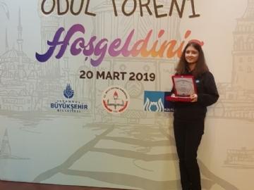 """Çevre Koleji """"Ben İstanbul Olsaydım"""" Temalı Hikâye Yarışmasında İstanbul Üçüncüsü"""