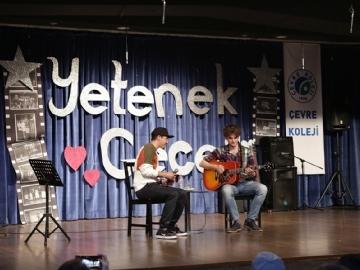 Çevre Koleji Sosyal Sorumluk Projesi Yetenek Gecesi