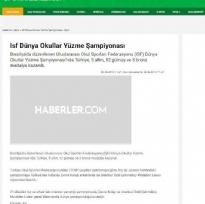 YÜZME ŞAMPİYONLUĞU-HABERLER.COM