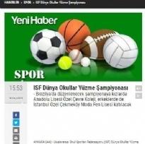YÜZME ŞAMPİYONLUĞU-YENİHABERDEN.COM