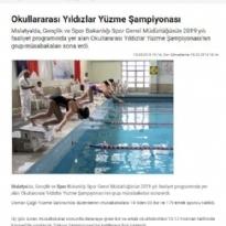 YILDIZLAR YÜZME ŞAMPİYONASI-SPORHABERLER.COM