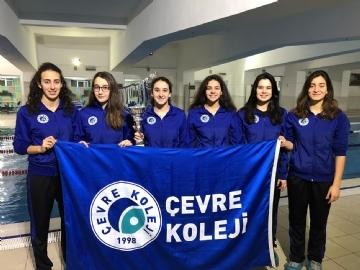 Genç Kız Yüzme Takımımız İl 2.si