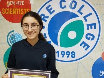 Çevre Lisesi Öğrencisi Şiir Yarışmasında Kadıköy İkincisi