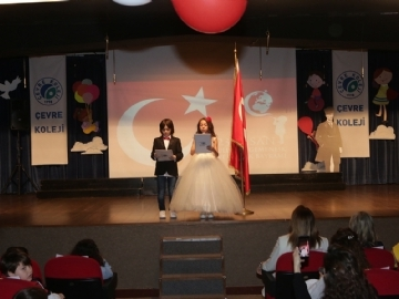 23rd April Celebrations at Çevre College